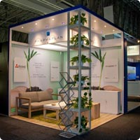 Octanorm Stand Kiosk